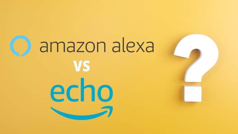what is the difference between Alexa and echo