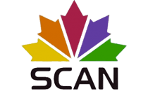 SCAN official logo for the web, a news channel in Albania